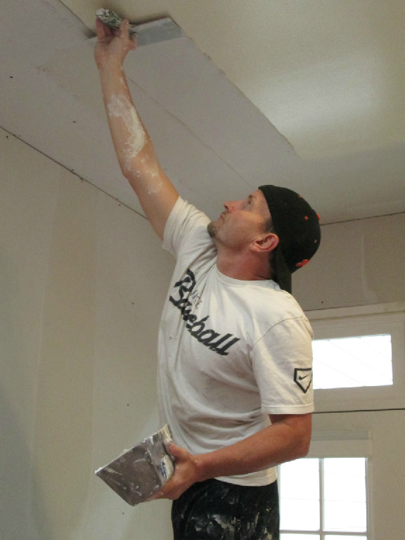taping drywall ceiling durham